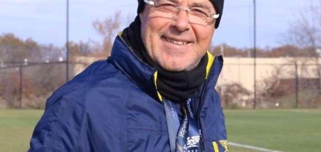 Jorge Célico, entrenador argentino. FOTO: FEF