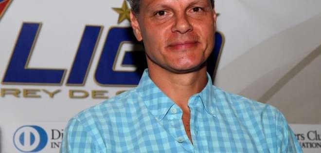 Esteban Paz, dirigente de Liga de Quito. FOTO: ARCHIVO
