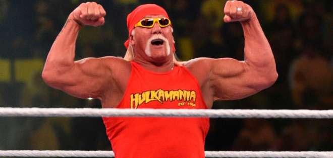 Hulk Hogan leyenda de la WWE. FOTO: AFP