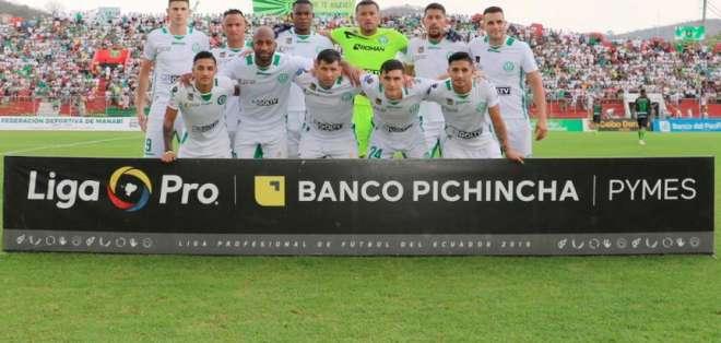 Equipo de Liga de Portoviejo. FOTO: LDUPoficial