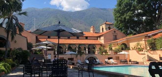 La casa club del Caracas Country Club, diseñada por el arquitecto estadounidense Clifford Charles Wendehack.