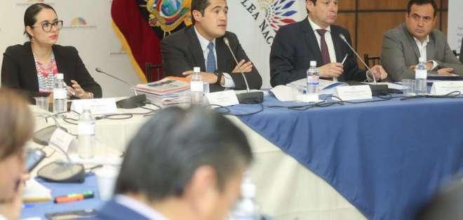 La idea de la muerte cruzada tomó fuerza con el archivo de la Ley de Crecimiento Económico. Foto: Asamblea Nacional