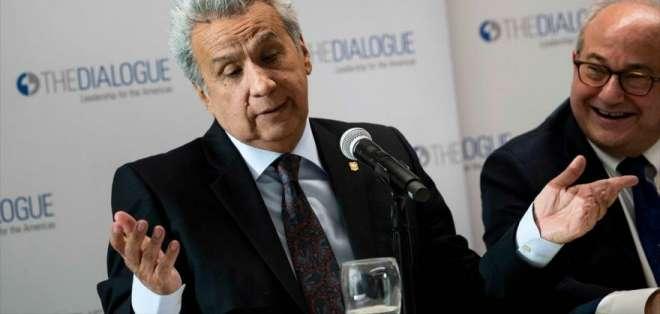 Lenín Moreno fue vicepresidente de Ecuador entre 2007 y 2013. Foto: AFP