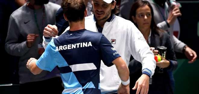 El equipo sudamericano pasó como uno de los mejores segundos. Foto: GABRIEL BOUYS / AFP