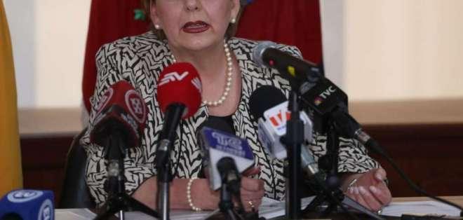 QUITO, Ecuador.- Paulina Aguirre, presidenta de la Corte Nacional de Justicia. Foto: API