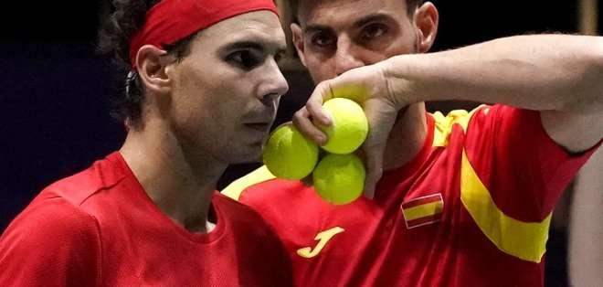 El equipo español de dobles.