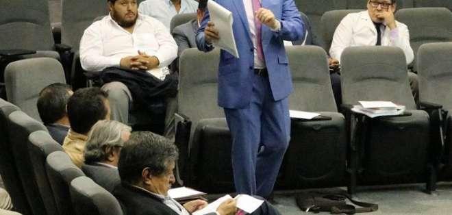 Andrés Holguin, abogado de Liga de Portoviejo.