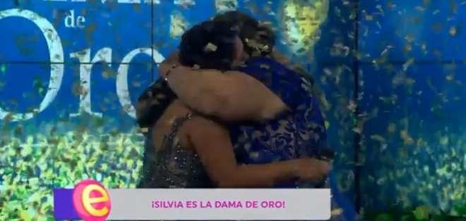 Silvia Vega, ganadora de la ´Dama de Oro´. Foto: IG