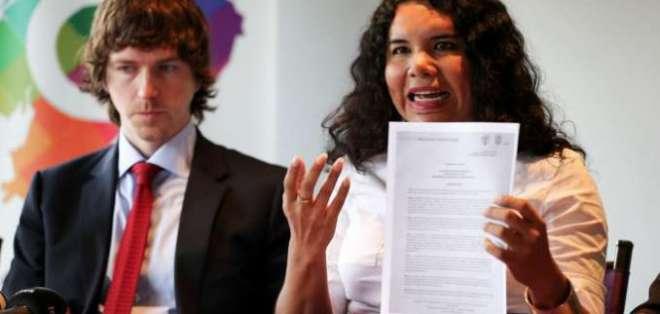 Cámara de Comercio LGBT de Ecuador suscribe convenio con EE.UU. Foto: EFE