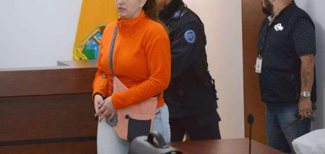 El viernes se cumple el tiempo de la última condena de María Sol Larrea (foto). Imagen: Archivo