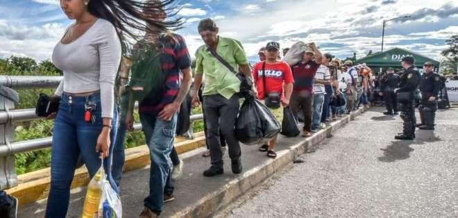 Los inmigrantes venezolanos han sido acusados de intentar desestabilizar en Colombia, Chile, Ecuador y Bolivia.
