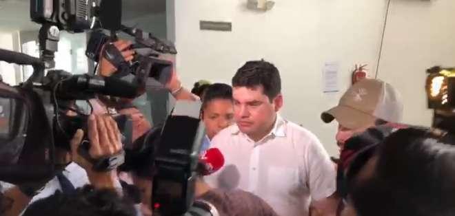 El expresidente del Consejo de Participación Ciudadana fue detenido esta madrugada. Foto: Captura