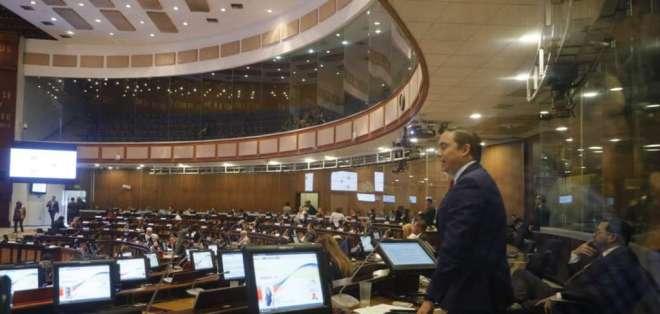En la Asamblea Nacional se discute el nuevo proyecto de ley enviado por el Ejecutivo. Foto: API