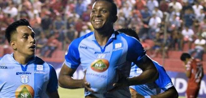 Michael Estrada, con 17,  fue el ecuatoriano con más goles en la Liga Profesional 2019. Foto: Archivo