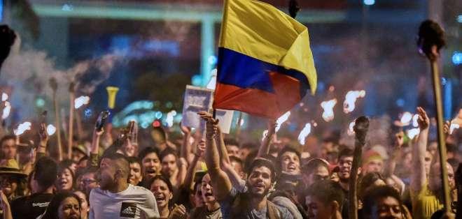 Las manifestaciones ya tienen 12 días en el país sudamericano. Foto: LUIS ROBAYO / AFP