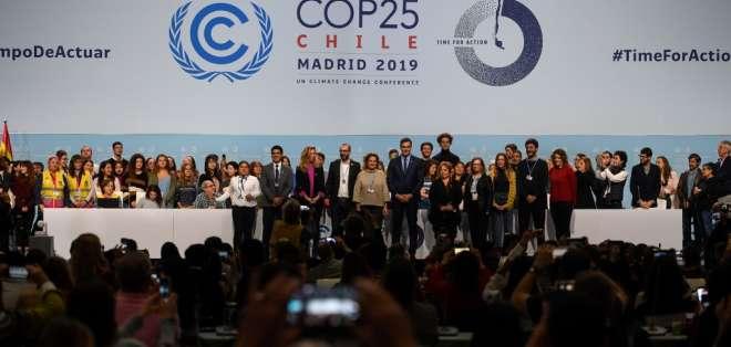Solo 68 países se han comprometido a revisar al alza sus compromisos de reducción de emisiones de CO2 en 2020. Foto: AFP