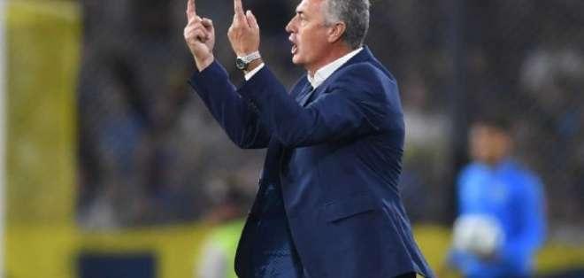 Gustavo Alfaro, entrenador de Boca.