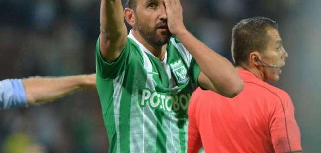 Hernán Barcos anotó 11 goles en 42 partidos en la Primera A de Colombia.