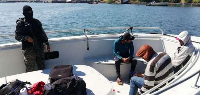 Interceptan semisumergible con 411kg de cocaína en el Pacífico de Guatemala. Foto: Referencial
