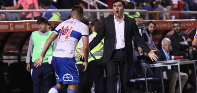 Gustavo Quinteros en su paso por Chile.