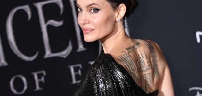 Imagen de archivo de la actriz estadounidense Angelina Jolie. Foto: AFP
