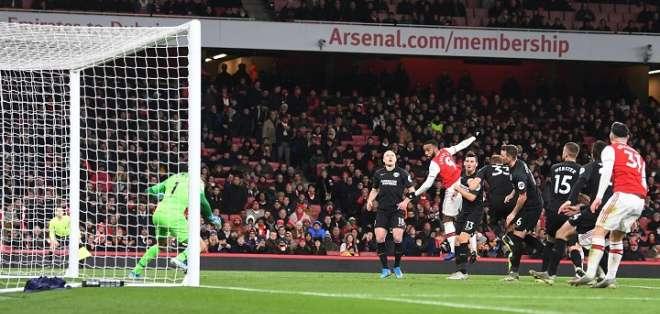 El Arsenal volvió a perder, esta vez como local. Foto: Twitter Arsenal.