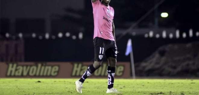 Christian Dájome, delantero colombiano. FOTO: API