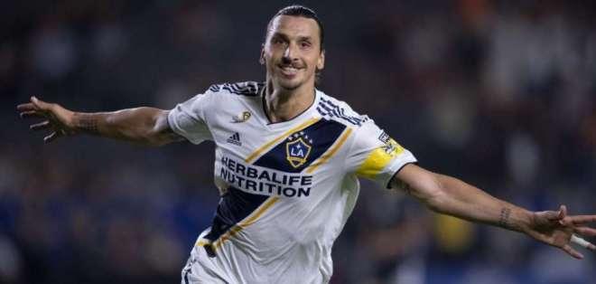 Zlatan Ibrahimovic, jugador sueco. FOTO: MLS