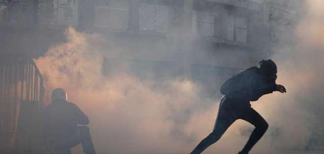 Las protestas en el país sudamericano ya cumplieron 50 días. Foto: EFE/Alberto Valdés