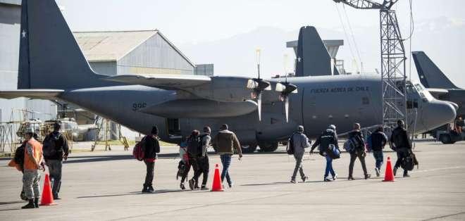 Así lo informó la Fuerza Aérea de Chile tras perder comunicación radial con la nave. Foto: AFP