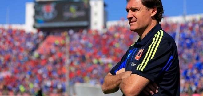Darío Franco en su paso por la U de Chile.
