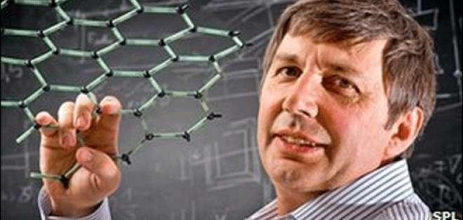 El profesor Geim nació en Rusia y está basado en la Universidad de Manchester.