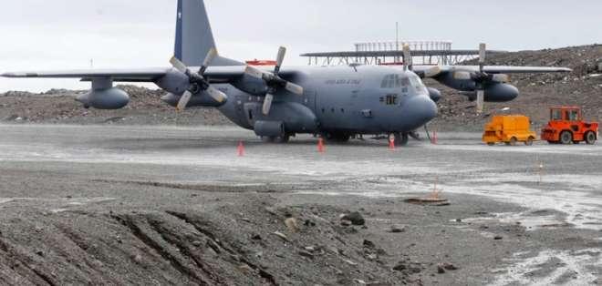 """El Lockheed Martin C-130 """"Hércules"""" se perdió el lunes. Foto: AFP"""