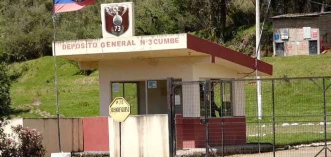 CUENCA, Ecuador.- El destacamento militar está ubicado a unos 20 kms. de la capital azuaya.