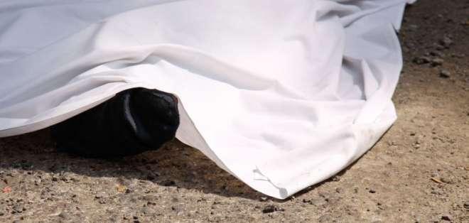 Persona muerta. Foto: Referencial