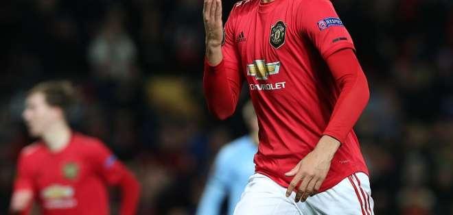 Mason Greenwood, jugador del Manchester United.