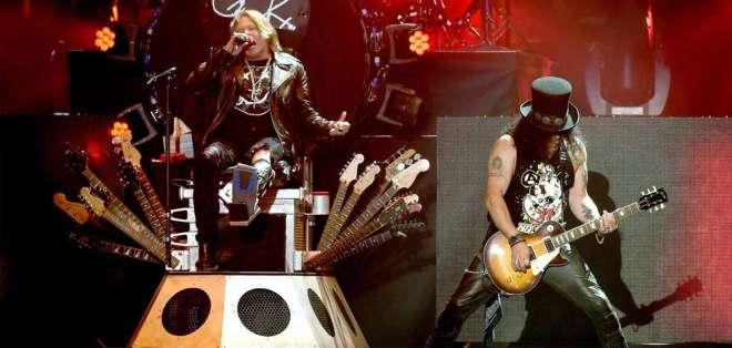 """La banda llega al país en el marco de su gira """"Not in this lifetime"""". Foto: AFP"""
