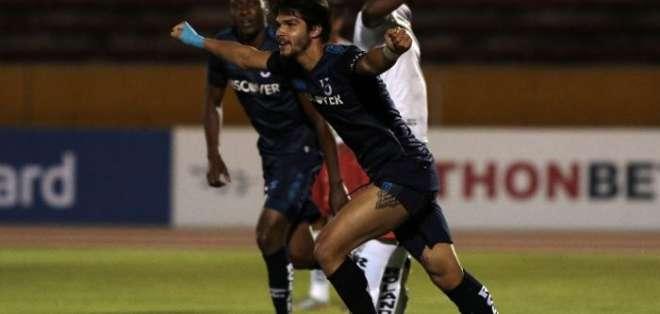 Luis Amarilla ganóel título de goleo de la Liga Pro 2019. Foto: Archivo.
