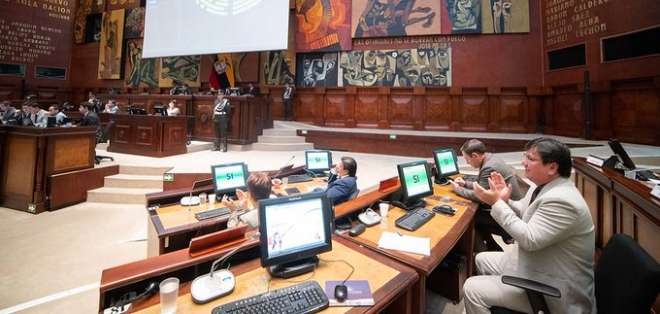 Pleno del Legislativo aprobó la normativa por unanimidad este jueves. Foto: Twitter Asamblea