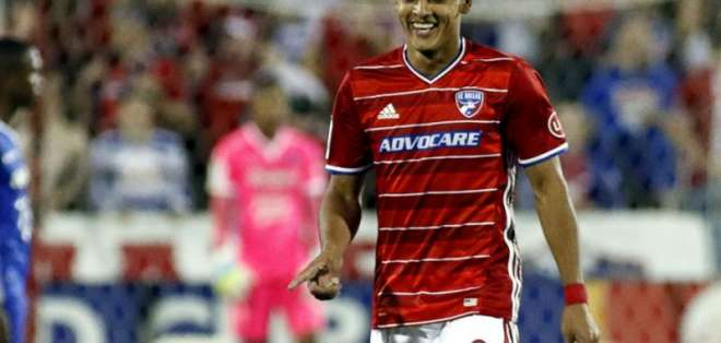 Cristian Colmán, jugador paraguayo.
