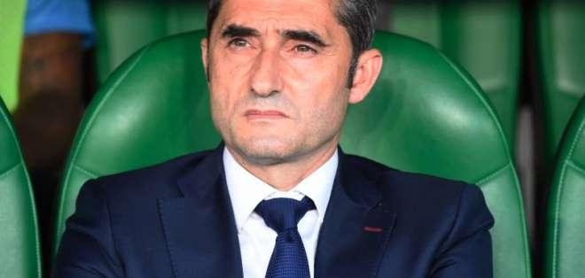 Ernesto Valverde, DT español.