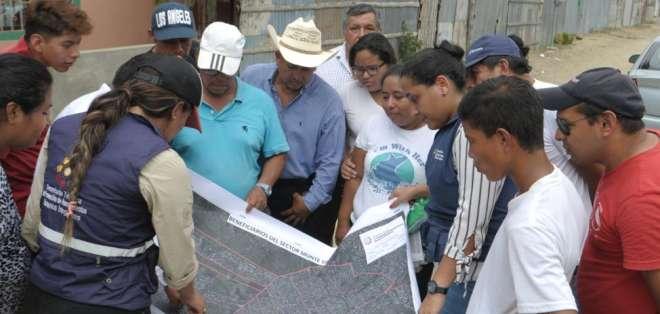 La gobernación del Guayas en coordinación con la Secretaría de Asentamientos Humanos Irregulares inició el proceso. Foto: API