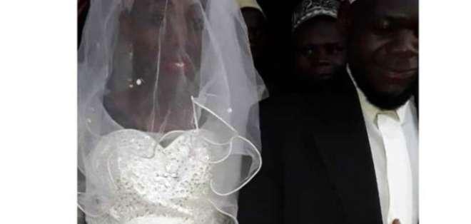 Imagen de la pareja en el día de la boda. Foto tomada de monitor.co.ug