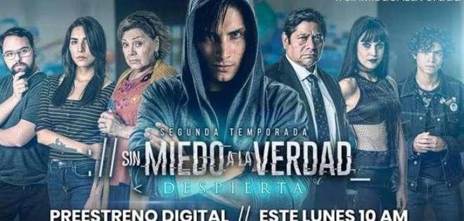 """""""Sin miedo a la verdad"""" es una serie de Televisa."""