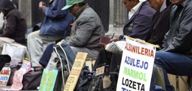 En zonas rurales, la pobreza aumentó de 40% a 41,8%. Foto: archivo