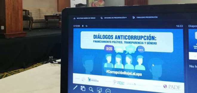 La Secretaría Anticorrupción fue creada por Moreno en febrero de 2019. Foto: @ECSinCorrupcion