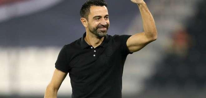 Xavi, entrenador del Al-Sadd. Foto: Diario Marca.