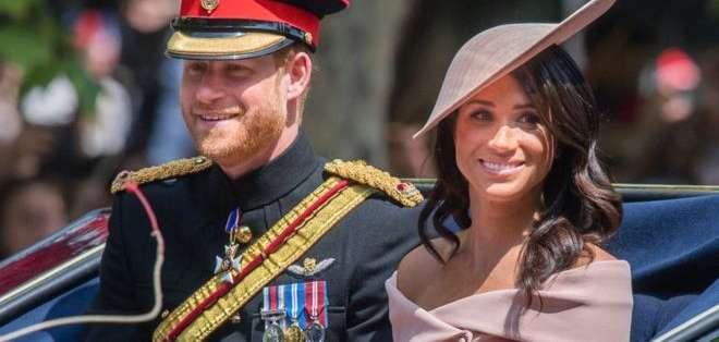 Harry y Meghan informaron este mes su deseo de no seguir siendo miembros activos de la familia real británica.