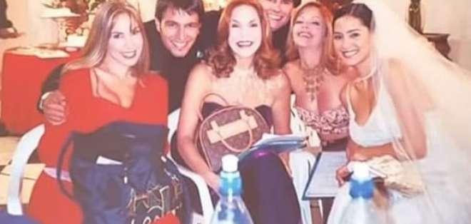 La actriz Hilda Abrahamz compartió esta foto inédita del grupo el pasado 9 de enero.