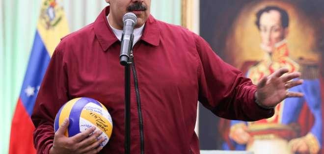 """Presidente Nicolás Maduro calificó de """"fantasioso"""" al jefe de la diplomacia de Estados Unidos, Mike Pompeo. Foto: Archivo AFP"""